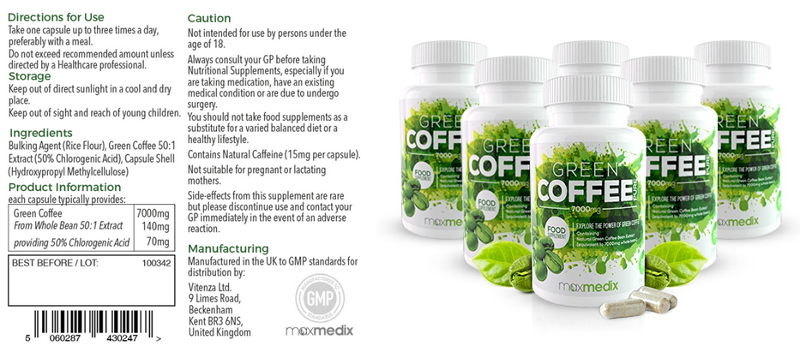 Green Coffee Pure Ingredients