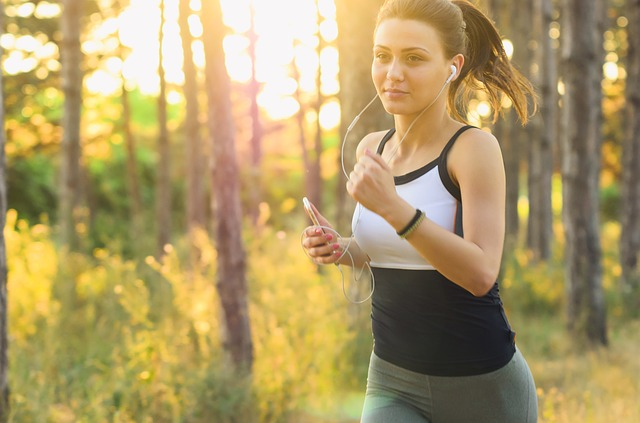 Young Woman Running - How Much Exercise do I Need to Lose Weight